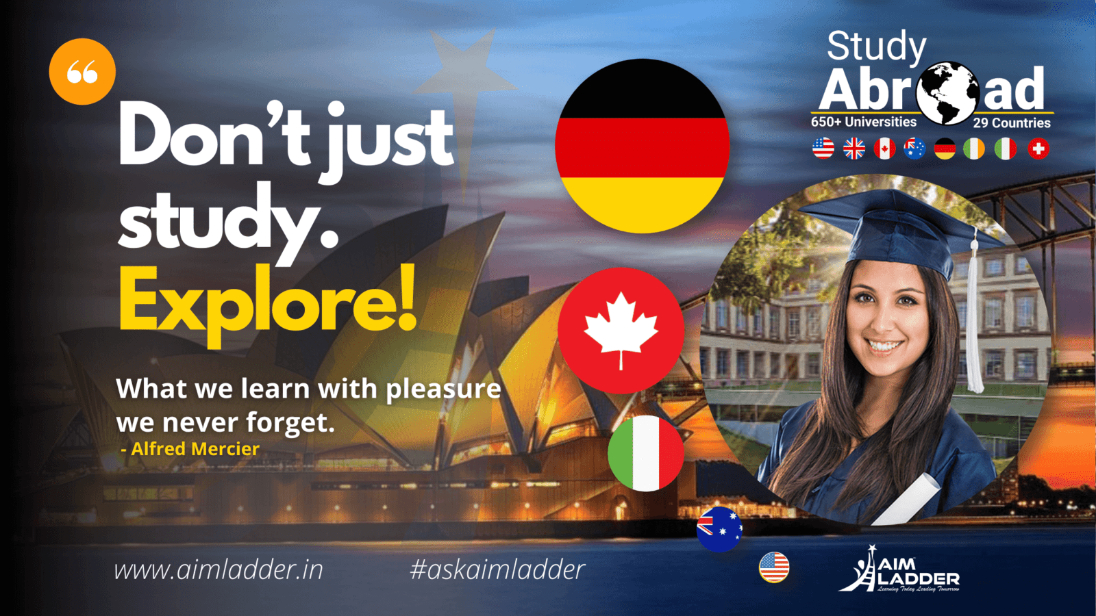 Study Abroad - with Aimladder